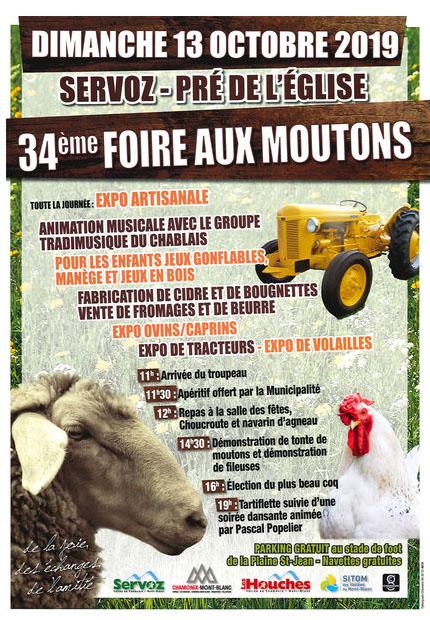 Foire aux moutons – Vallée de Chamonix