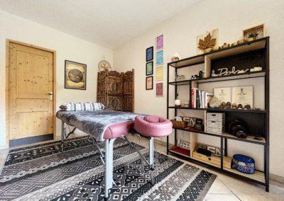 salon massage fontaine du Mont Blanc